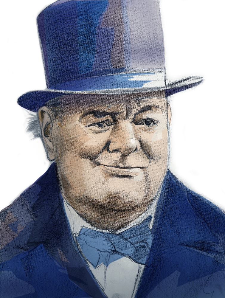 David Reed-Winston Churchill