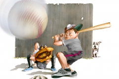 David Reed-Baseball Kids